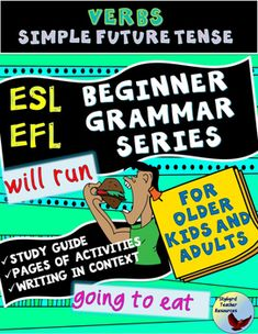 """ESL EFL future tense verbs.  Help your students master the two most common forms of speaking about the future.  This resource provides multiple opportunity to practice the two most common forms of future English tense - """"will"""" and """"going to""""."""