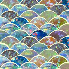 opal inlay - this is a fabric design that you can purchase by-the-yard