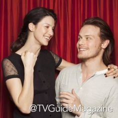 Outlander fans, we're still a little more than two months away from the series premiere (Saturday, August 9 on Starz), but here's a little treat for you. Head over to our YouTube page to see a longer version of the video with Sam Heughan and Caitriona Balfe: youtube.com/TVGuideMagazine #Outlander #SamHeughan #CaitrionaBalfe @caitriona oconnell oconnell oconnell Balfe @outlander_starz