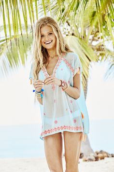 Lilly Pulitzer Sydney Caftan Top