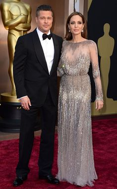 Not usually a fan but Angelina Jolie's dress was a gorg Elie Saab at Oscars 2014
