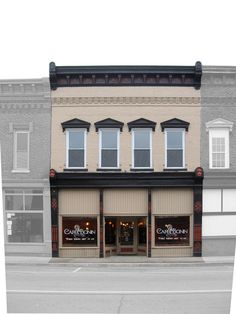 Historic Storefront Design | Cafe Bonin | Downtown Campbellsville ...