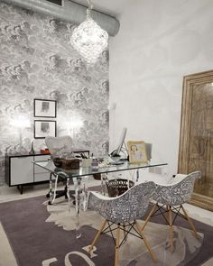 Cole & Son Fornasetti II Nuvolette cloud wallpaper by donna