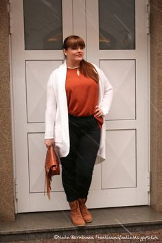 Hülle & Fülle Plus Size Fashion Blog: Tricolor Look, OOTD, Christmas party dress, fall, winter outfit
