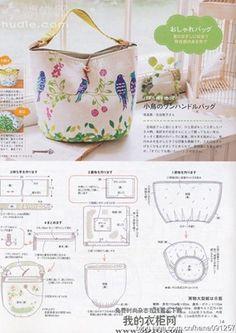 Ideias para bolsas e sacolinhas   Arte com Tecidos