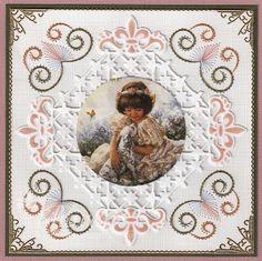 Ann's Paper Art pattern a477 combined with Joy! Crafts 6002/0134, decoupage by Nellie Snellen