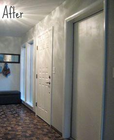 Remodelaholic | Painting Old Wood Trim and Door Hardware