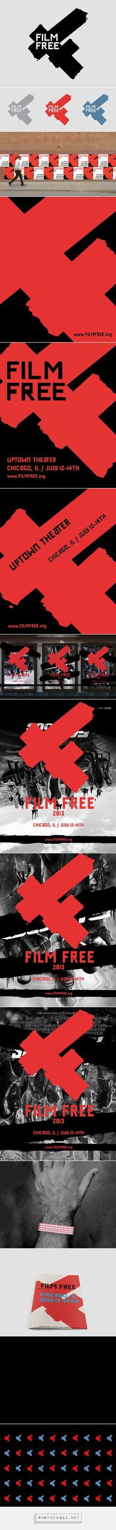 Film Festival Branding and Environmental on Behance - created via https://pinthemall.net