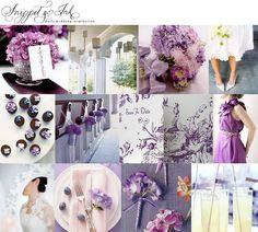 Resultado de imagem para inspirações azul com lilas