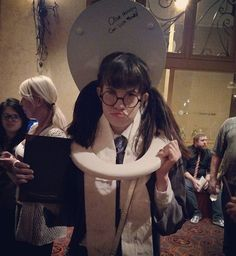 I had a miserable time at the #PhoenixSymphony last night as #moaningmyrtle for the #halloweenathogwarts event!! #harrypotter