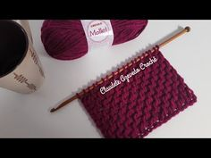 Cachecol Crochê Tunisiano rápido e fácil - YouTube Tunisian Crochet Stitches, Cowl, Straw Bag, Diy And Crafts, Crochet Patterns, Deco, Youtube, Tunisian Crochet, Tutorial Crochet