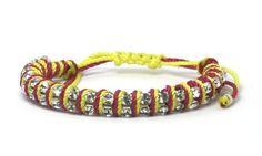 picarosa - double rhinestones with colors Rhinestones, Colors, Bracelets, Leather, Shopping, Jewelry, Fashion, Moda, Jewlery
