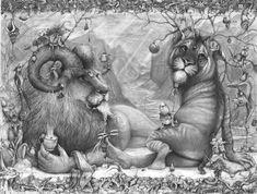 Slouching Lion