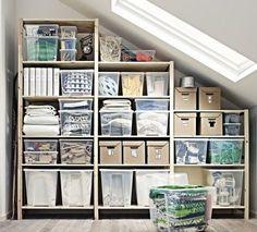 IVAR kastsysteem | #IKEA #DagRommel #zolder #opbergsysteem #kast #hout