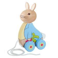Peter Rabbit: Peter Rabbit Wooden Pull Along