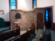 Sanctuary Decor for Hometown Nazareth VBS