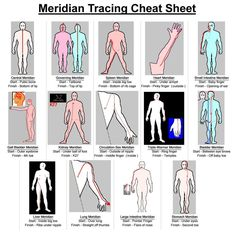 """What is the value of tracing your meridians? When meridians become unbalanced, they can carry too much or too little energy to the organs, and they can create emotional havoc. Tracing them smooths and evens the flow of energy throughout the meridian system. The result is optimal health and well being. Donna Eden says in her book Energy Medicine, """"As you pass your hand over a meridian, you are aligning your hand's energies with the meridian's energies, like the moon pulling the tide."""" #health"""