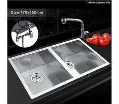 Commercial Sink Bench - FED 1500-6-DSBR DOUBLE SINK BENCH RIGHT - www ...