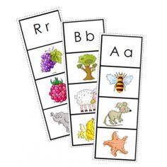 Dans l'objectif d'éveiller les enfants au premier son entendu dans un mot, ces cartes visent l'identification du son initial pour développer la conscience phonémique.Cette activité amusante, vous invitant à découper chacune des cartes pour les utiliser à votre guise (ex. les plastifier et encercler l'image au crayon indélébile ou utiliser une pince à linge, contient une série de 16 tâches. Alphabet Activities Kindergarten, Toddler Activities, Learning Activities, Learning To Write, Learning Letters, Conscience Phonémique, Sons Initiaux, English Teaching Materials, Alphabet Images