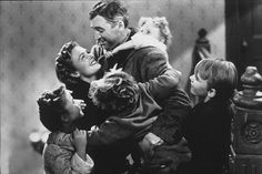 It's a wonderful life-The best and most classic Christmas film of all time.Very Inspiring with the most Beautiful and Moving message,I have yet to see a film with a better one. Donna Reed, White Christmas Movie, Classic Christmas Movies, Classic Movies, Merry Christmas, Vintage Christmas, Christmas Classics, Christmas Ideas, Christmas Inspiration