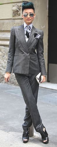 """Esther Quek."" (I think I could pull off this look. ~ nt)"