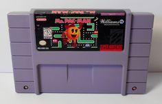 Super Nintendo SNES Ms. Pac-Man Video Game Cartridge Only