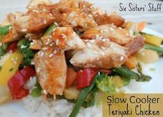 Slow Cooker Teriyaki Chicken Stir Fry- Find out what makes this easy chicken recipe so simple!