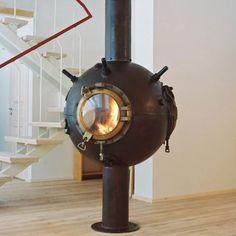 fantastic fireplace!