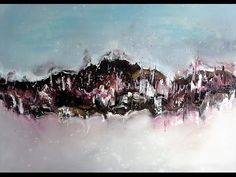 The Island - Einfach Malen - Abstrakt. Easy Painting - Abstract - YouTube