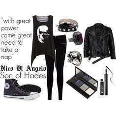"""""""Nico Di Angelo"""" by whoviangirl on Polyvore"""