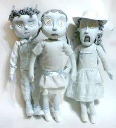 Sincere Masterpieces: Coraline Ghost Children Rag Dolls