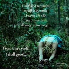 The grounding ~ healing ~ of Mother Earth ~ embrace ~ your connection to Her! Lightbeingmessages.com