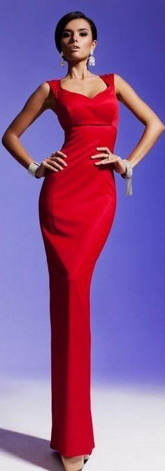 Olesya Malinskaya S/S 2013 red