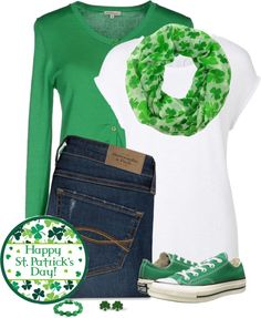 Casual St Patrick's Day outfit - Bmodish