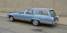 1990 Cadillac Brougham wagon