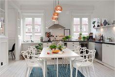 Precioso apartamento de estilo #nordico en Suecia  #decoracion