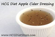 Apple cider can keep your weight loss on HCG fast... so use this HCG recipe to help!