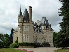 Château de Lalande, Montmorillon, Vienne, France