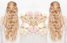 Half-Up Pull Through Braid - Messy Pinterest Braids We Love - Photos