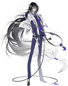 Risultati immagini per juzumaru tsunetsugu I Love Anime, Anime Guys, Anime Long Hair, Manga, Character Art, Character Design, Touken Ranbu Characters, Otaku Mode, Hisoka