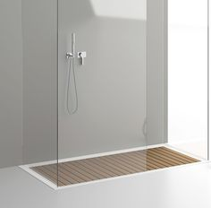 Doga - il piatto doccia in Corian(R) e legno teak su misura - PLANIT - News e comunicati stampa