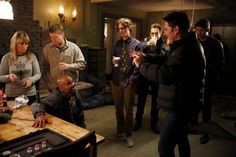 Gubler Centric: Behind the scenes of 'Derek' directed by Thomas Gibson (thanks to Criminal Minds VOSE )
