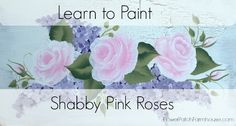 A simple step by step lesson on how to paint a beautiful rose. A fast a simple to follow tutorial one stroke at a time.