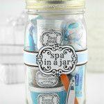 Spa In A Jar ~ DIY Valentine's Day Gift In A Jar