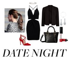 """""""Date Night"""" by riley-specht ❤ liked on Polyvore featuring Boohoo, Steve Madden, NARS Cosmetics, Bourjois, Bling Jewelry, Humble Chic and Myia Bonner"""