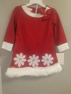Baby & Toddler Clothing Janie And Jack Holiday Classics Red Velour Bow Hooded Cardigan Size 6-12 Months Yet Not Vulgar Clothing, Shoes & Accessories