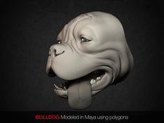 Bulldog by Alex Liki. www.alexliki.com