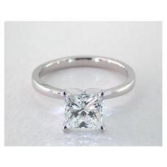 Classic Style Solitaire Diamond Engagement Ring in 4 Prong Setting