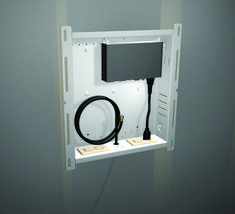wall mount tv with cable box - Google Search