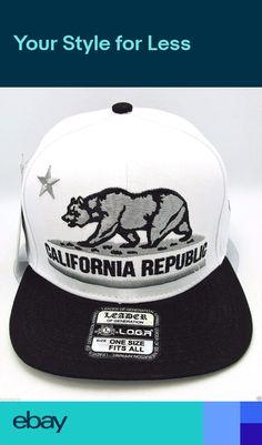 NWT NEW ERA California Republic all over bear 9FIFTY SNAPBACK adjustable cap hat